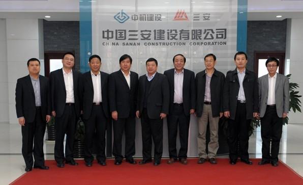 国机集团副总裁刘大功一行莅临公司调研指导工作